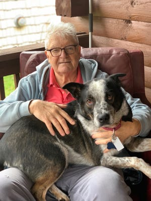 Ronald Nicholas, 72, and his dog, Cole, have been missing since April 5.