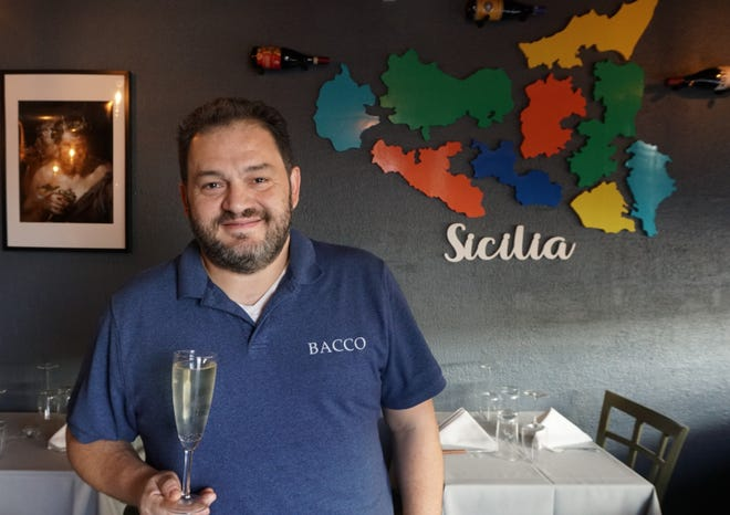 Armando Bisceglia, the owner of Bacco Vino & Contorni in Providence, is fighting COVID-19.