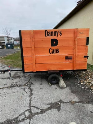 Danny's Cans collects can donations in a trailer located in the Royal Star parking lot.