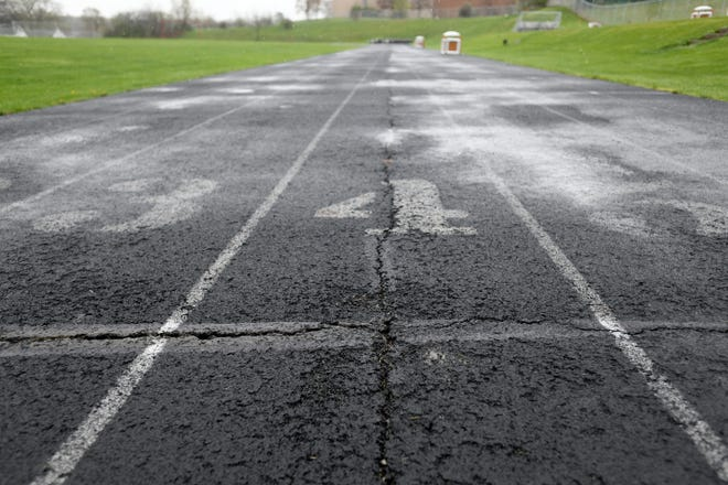 The Canton City school board on Monday approved a nearly $1 million project to upgrade the football field and running track at Crenshaw Middle School. The running track contains multiple large cracks and depressions where water has pooled.