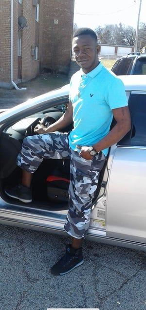 Faustin Guetigo, 27, was fatally shot by Winnebago County sheriff's deputies on Saturday, April 10, 2021.