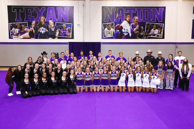 Tarleton's Dance team, the Texan Stars, and the Texan Cheerleading squad along with the Texan Rider mascot, each claimed second place finishes Friday at the NCA & NDA College Nationals in Daytona Beach, Fla.