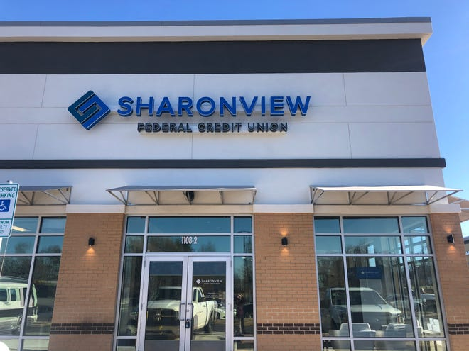 Sharonview Federal Credit Union has opened in Shelby.