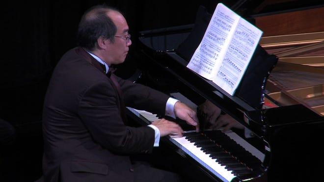 Pianist Derek Han in a performance of the La Musica International Music Festival in Sarasota.