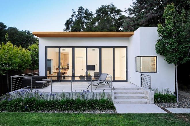 A ROOM OF ONE'S OWN: The pandemic has pushed the demand for Accessory Dwelling Units, or ADUs, like this one in Palo Alto, Calif., designed by Maydan Architects. They fill an increased need for affordable housing or a separate home office. Fortunately, more city and state regulations are allowing them.