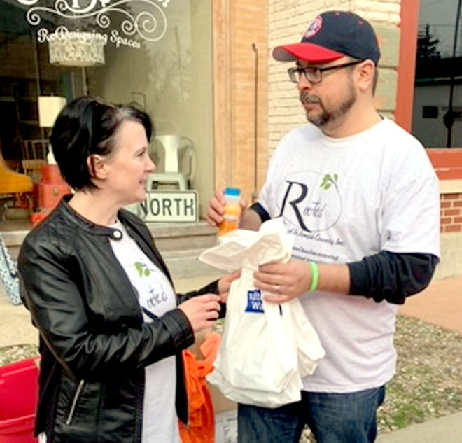 Tiffany and Rob Wagler formed the organization Rooted. A 5K fundraiser took place Saturday morning in Burr Oak.