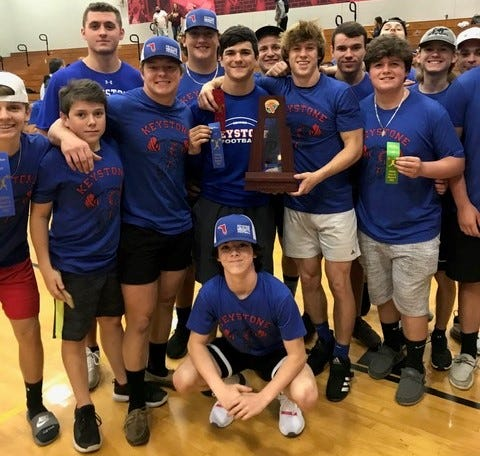 Keystone Heights swept the county, district and regional boys weightlifting titles this season.