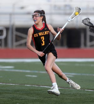 Junior midfielder Peyton Deverso had a team-best 39 goals through seven games, helping Big Walnut to a 6-1 start heading into a contest April 15 against Hilliard Darby.