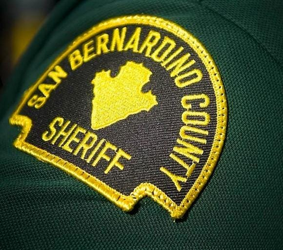 A 23-year-old man died at the scene and a San Bernardino County sheriff's deputy suffered minor injuries Sunday, April 11, 2021, after a two-vehicle crash in Victorville.