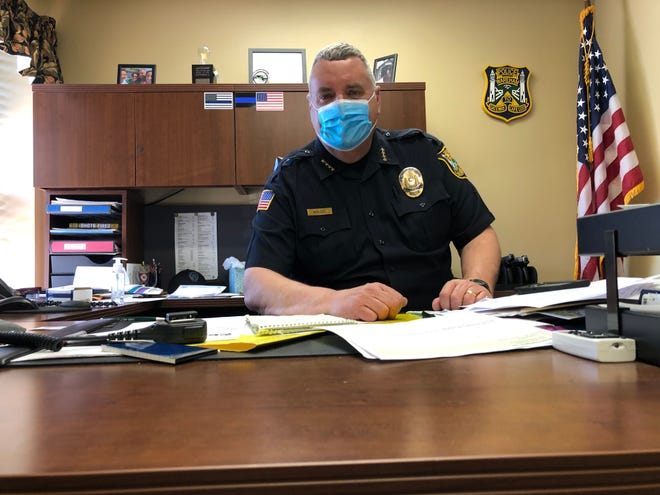 """""""I have to say it's genuinely been an honor to be a police officer in this town."""""""