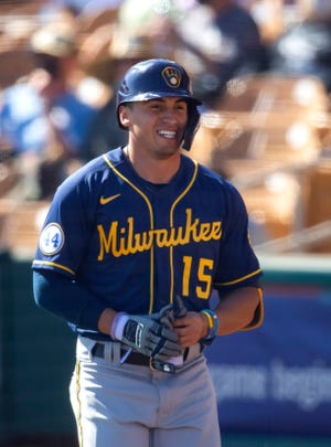 Outfielder Tyrone Taylor will be one of the participants in the Milwaukee Brewers alternate training site at Fox Cities Stadium.