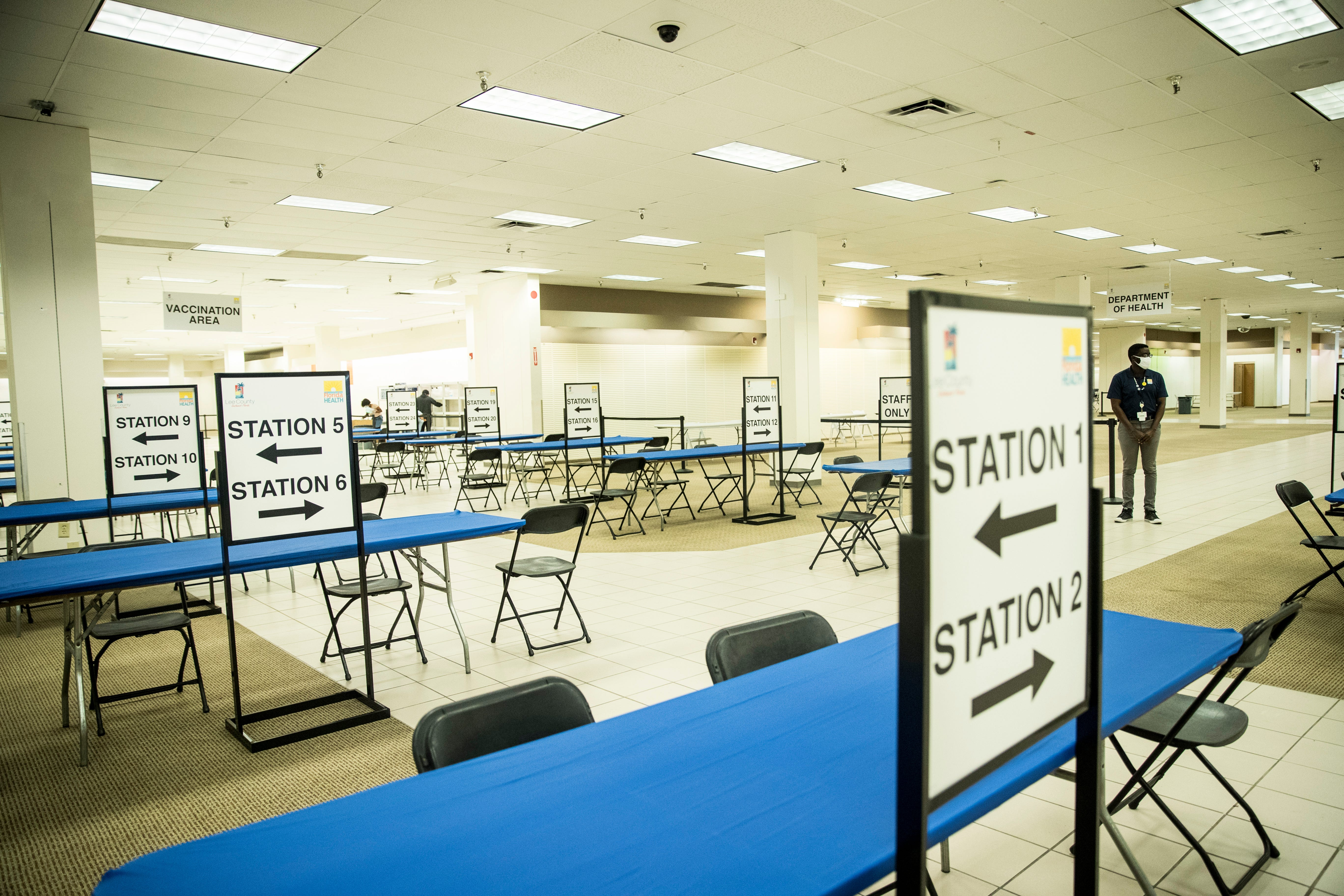 Lee County relocating primary COVID-19 vaccination site to Edison Mall from RSW starting Wednesday 2