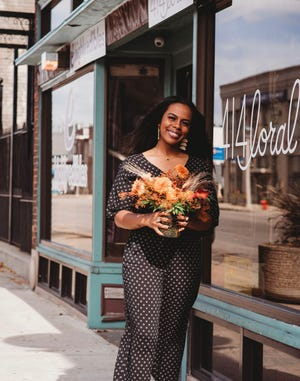 Mikel McGee decided to go full time into her flower business 414loral during the pandemic.