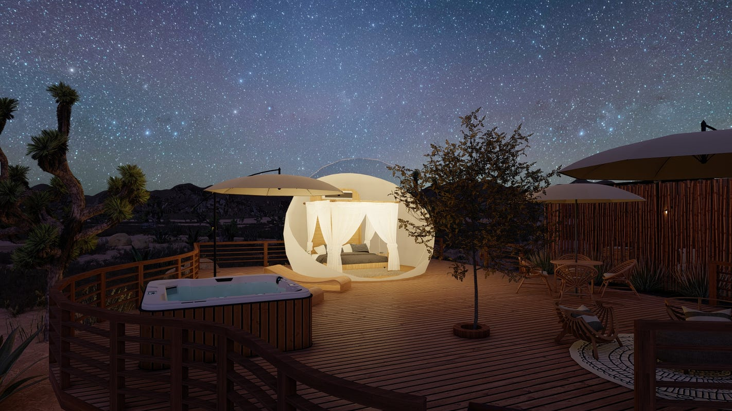 The hotel that hasn't been built: Joshua Tree Bubble Hotel project shows the promise, pitfalls of crowdfunding