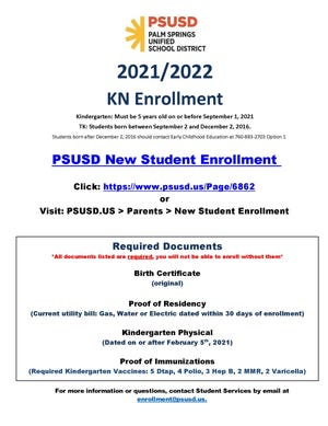 KN enrollment.