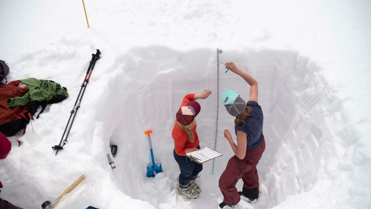 New snowpack totals suggest the 20-year Western drought will persist, intensify