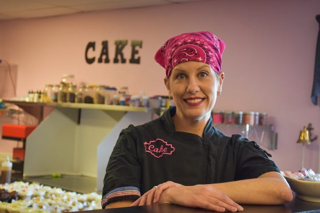 Carrie Tucholski is a military veteran whose business, Iced Cakes at the Lake, has become a popular bakery in Port Clinton. Carrie and her husband, military veteran and charter captain John Tucholski, are dedicated to using their talents and their businesses to help fellow veterans.
