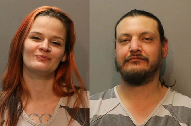 Tracy Laughlin (left) and Travis Nelson (right) are wanted by the RCPD.