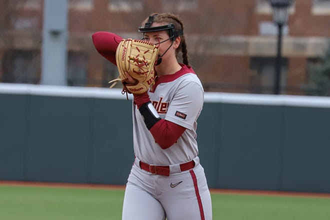 Kathryn Sandercock was recently named the Atlantic Coast Conference Pitcher of the Week on Tuesday after throwing 9.1 shutout innings against No. 20 Duke last weekend