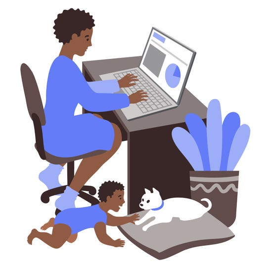 It's important to find a healthy work-life balance.