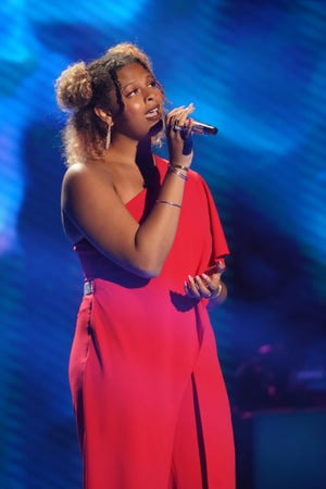 """Northern Kentucky University student Alyssa Wray moved to the top 16 with her rendition of """"Killing Me Softly,"""" getting praise from all three judges."""