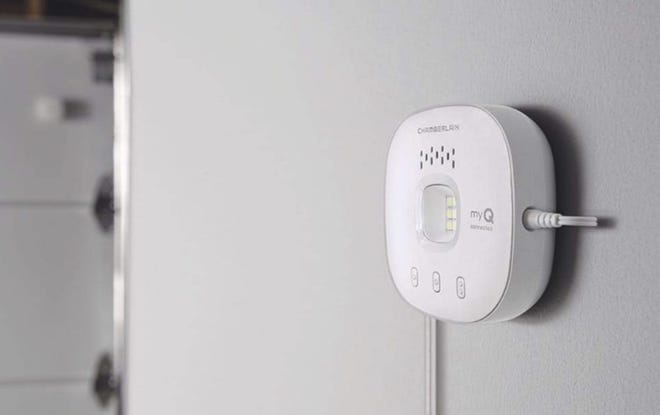 Operate your garage door from anywhere with this smart gadget.
