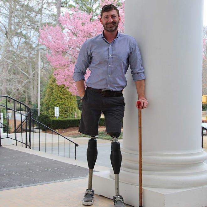 Dan Berschinski in Atlanta, Georgia, in April 2018.