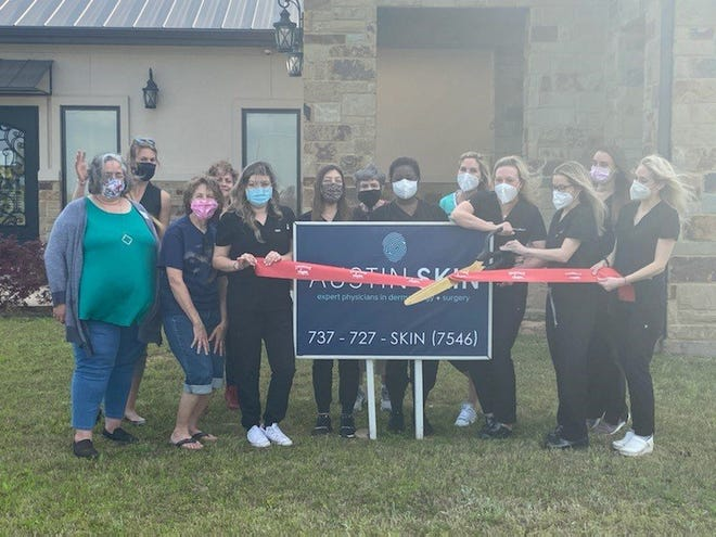 The Smithville Chamber hosted a ribbon-cutting for Austin Skin physicians.