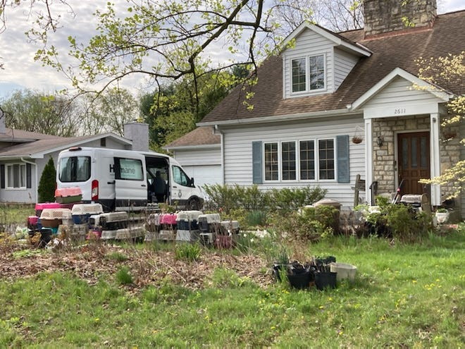 Columbus Humane agents rescued 61 cats from unsanitary living conditions in Upper Arlington on Tuesday.