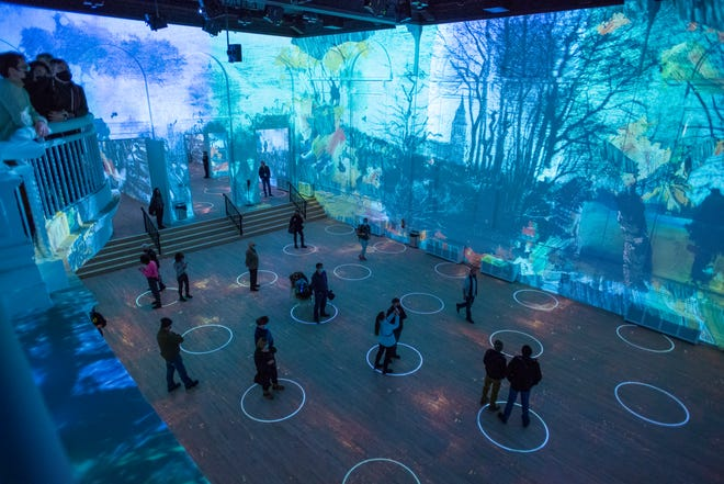 "Tickets to ""Immersive Van Gogh"" will be available to the public beginning Thursday."