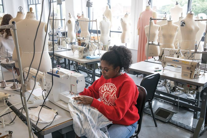 Columbus College of Art & Design has programs for multiple ages, including the overnight College Preview program seen here.