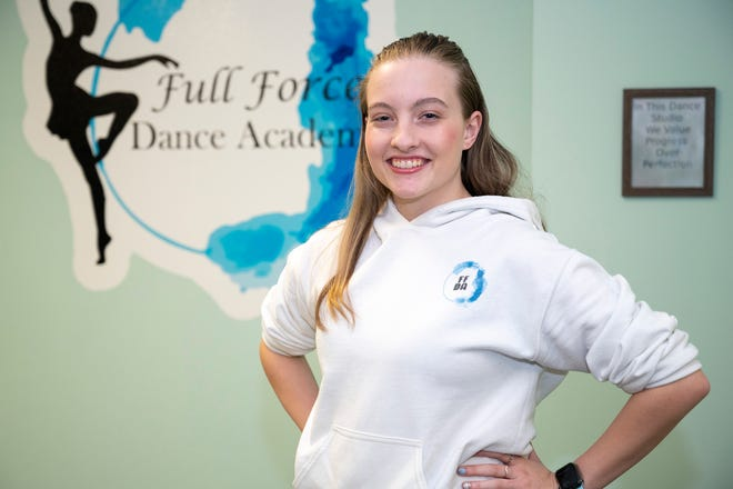 Paige Grimes, 19, opened Full Force Dance Academy in Minneola to purse her dream of teaching dance. [Cindy Peterson/Correspondent]