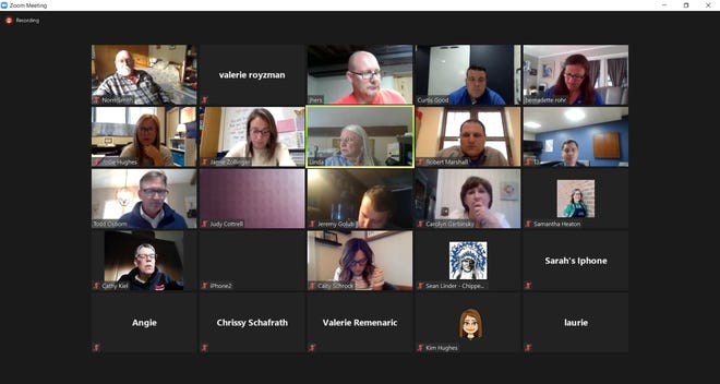 The Chippewa Local Schools Board of Education held its regular April meeting on Monday evening via Zoom.