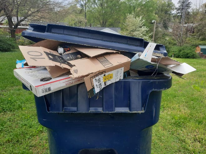 Lexington has seen an increase in the amount of cardboard in its curbside recycling program and now has plans to install several dumpsters to give more options to the community.