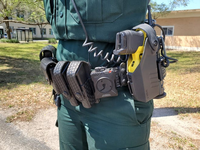 The Lakeland Police Department has estimated that implementing body cameras for its officers would cost $1.34 million per year for 10 years. But that estimate included upgrading the department's tasers and dashboard cameras - technologies that the department desperately needs to upgrade regardless of whether the city implements body cameras.
