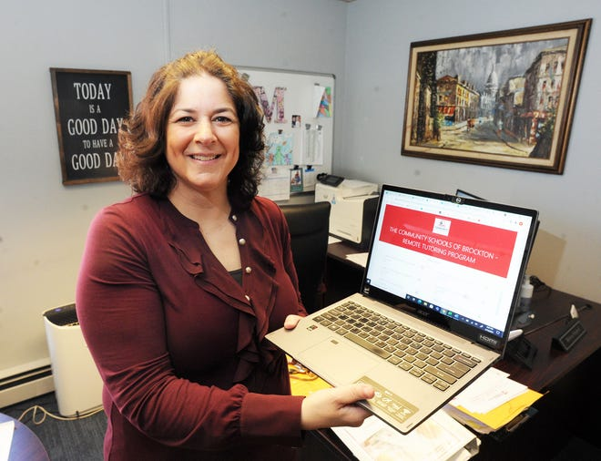 Melissa Shepard, Coordinator, Smart Start Extended Day, Brockton Pubic Schools, on Tuesday, April 13, 2021.