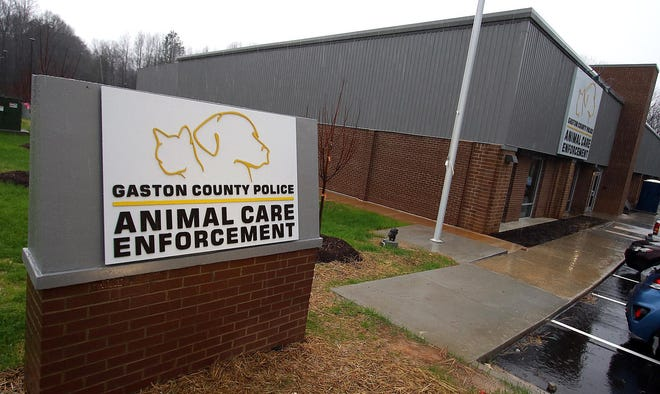 Gaston County Police Department's Animal Care and Enforcement shelter on Business Park Court in Gastonia.
