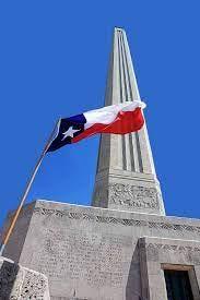 The San Jacinto Monument stands in La Porte.