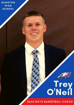 Hays High assistant Trey O'Neil has been named head boys basketball coach at Hugoton.
