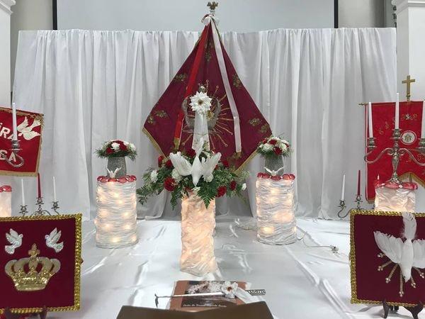 Holy Ghost Celebration at St. John of God Parish in Somerset.