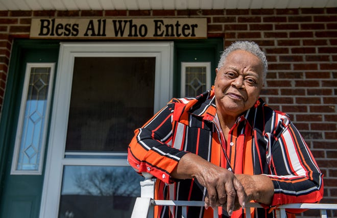 Retired teacher and principal Aurthur Perkins, 83, was one of the first to purchase a home in the Spring Grove subdivision in South Peoria. She has lived there for the past 26 years.