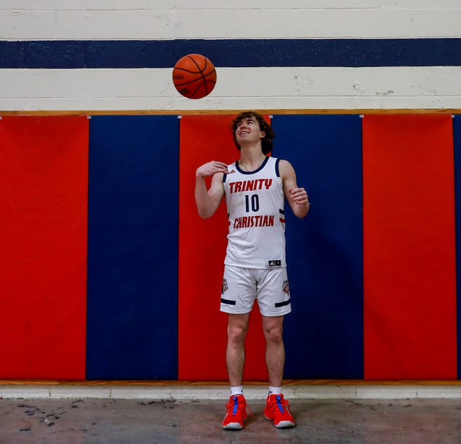 Trinity Christian senior guard Ethan Duncan is the 2020-21 Lone Star Varsity Player of the Year.