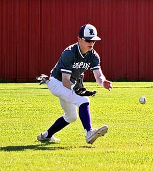 Logan Calcote had a hit and run scored in Rosepine's loss to DeQuincy on Monday, 6-4.