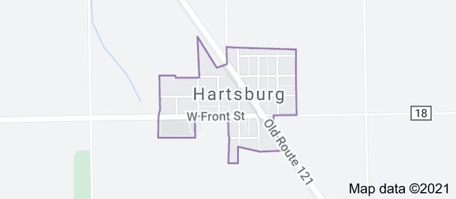Hartsburg is a village in Logan County, Illinois, United States. The population was 314 at the 2010 census.