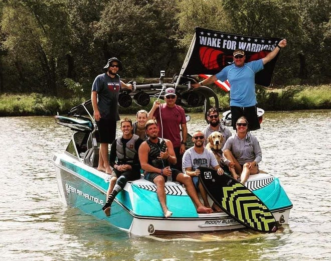 MarineMax welcomes Wake for Warriors event to the lake area.
