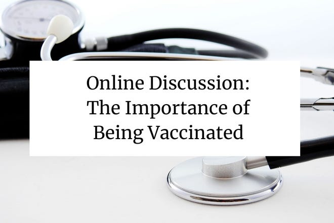 """Panel discussion: """"The Importance of Being Vaccinated"""""""