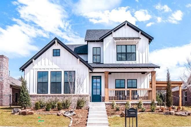 McCaleb Homes has this one home entered in the Parade of Homes Spring Festival, at 1624 Boathouse Road in Edmond. The parade will be April 23-25 and April 3-May 2.