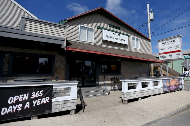 The owner of Wally's Pub is looking to expand the Ashworth Avenue biker bar with an addition, including an outside pavilion.
