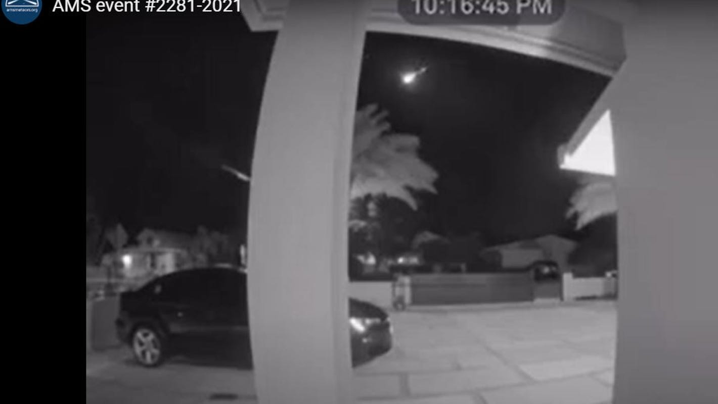 Treasure Coast, Brevard residents see fireball across the sky Monday night. Here's what it was