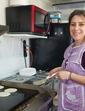 Nancy Chavez is cooking up homemade Mexican food at a fairly new food truck in Pratt, located in the parking lot east of Tractor Supply.